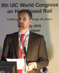 Impulsreferat beim UIC World Congress of Highspeed Rail2015