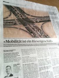 """""""Mobilität ist ein Riesengeschäft"""""""