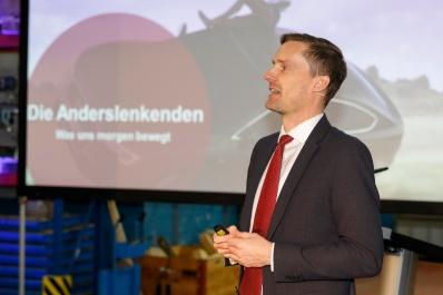 Unternehmerapéro 2020 im Hilti Logistikzentrum in Eschen-Nendeln. Foto: ©Paul J. Trummer